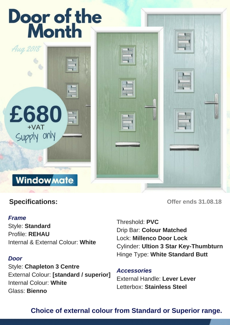 August Door of the Month - Unmissable offer!