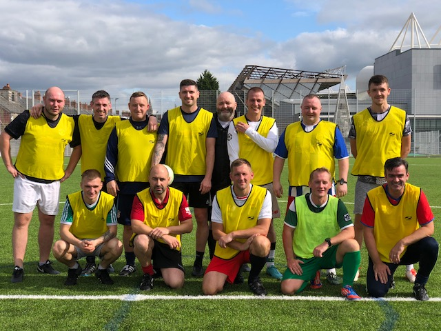 Football Fun Raises Money for Charity
