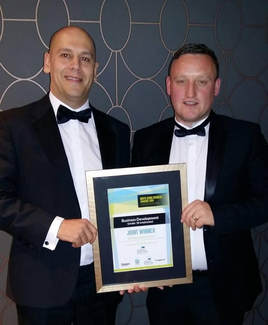 Winner at North Down Business Awards
