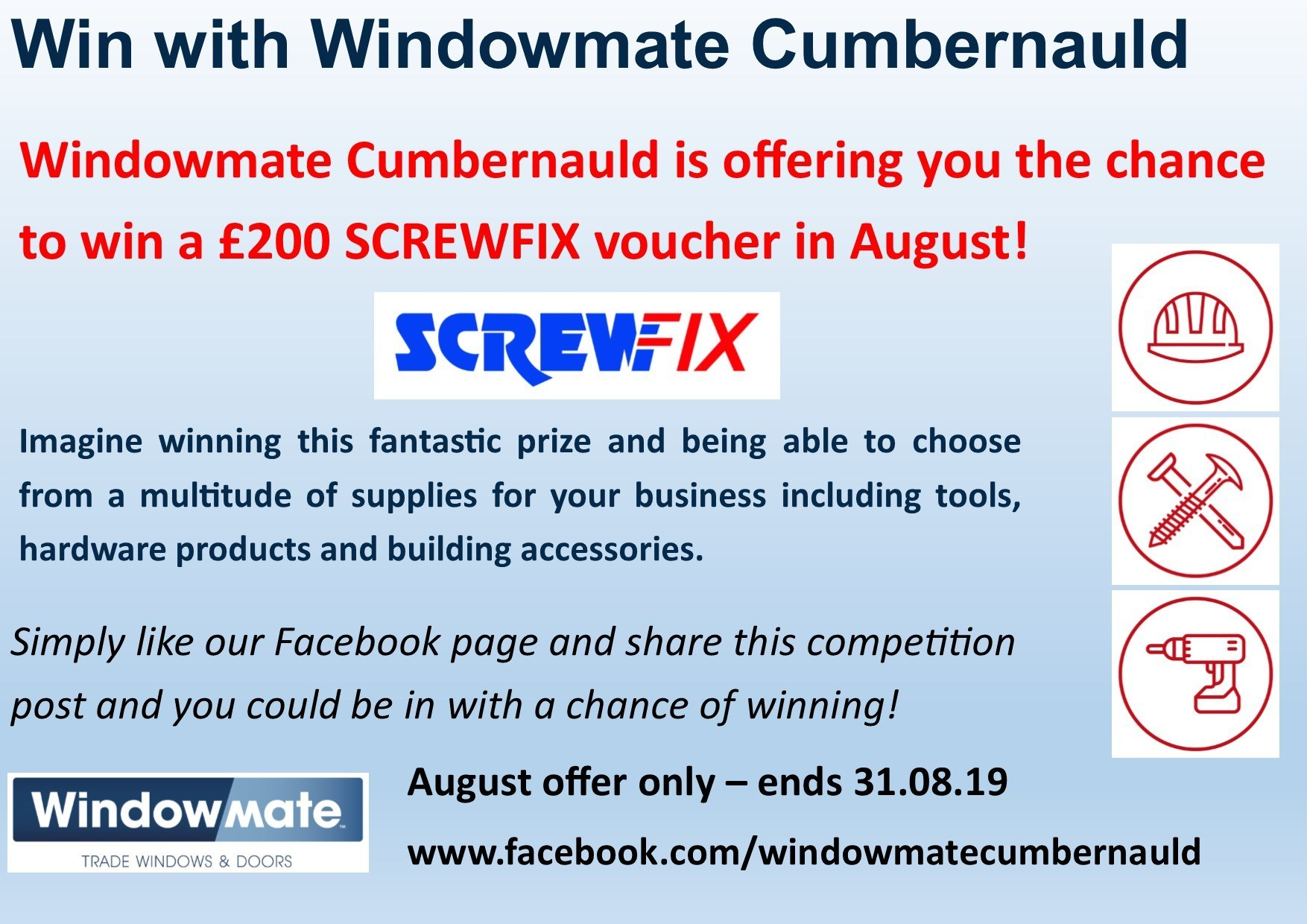 Competition Time for Windowmate Cumbernauld