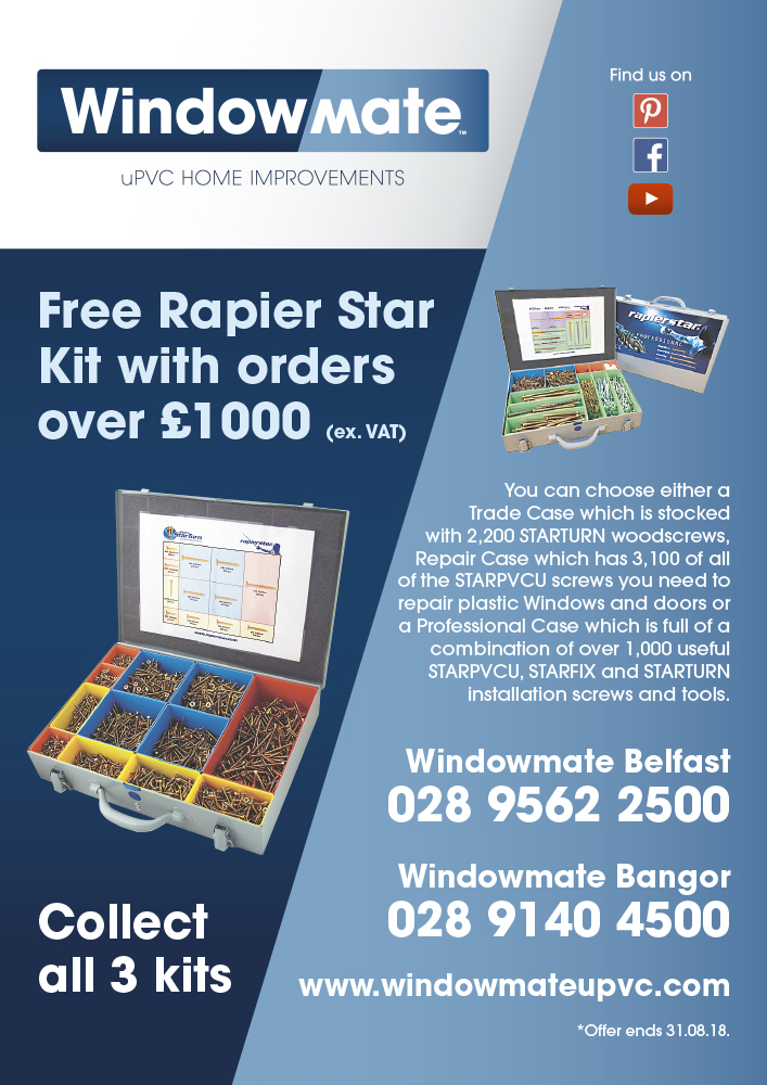 FREE Rapier Star Kits with Orders over £1000 (ex VAT)
