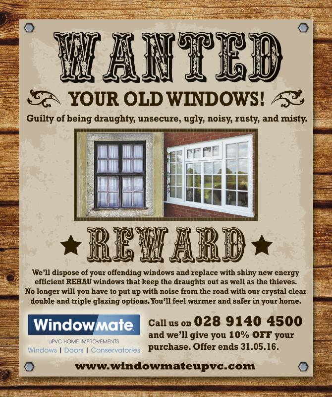 We want your old windows!